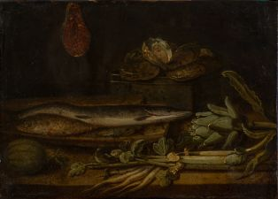 Nature morte aux poissons ; © PHILIPPOT Claude